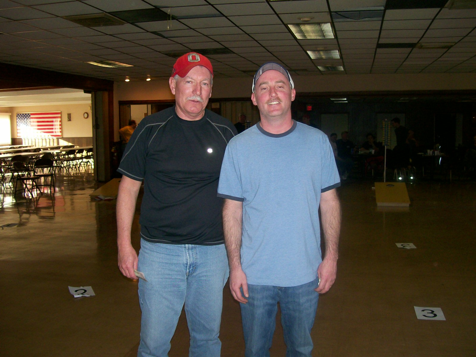2nd place doubles - Tom Bobo and Mark Allen  (Feb. 19, 2011)