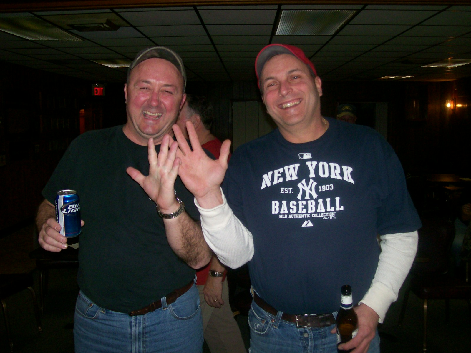 5th place doubles - Dumb and Dumber  (Mark Perdue and Marty Welch) Feb. 19, 2011